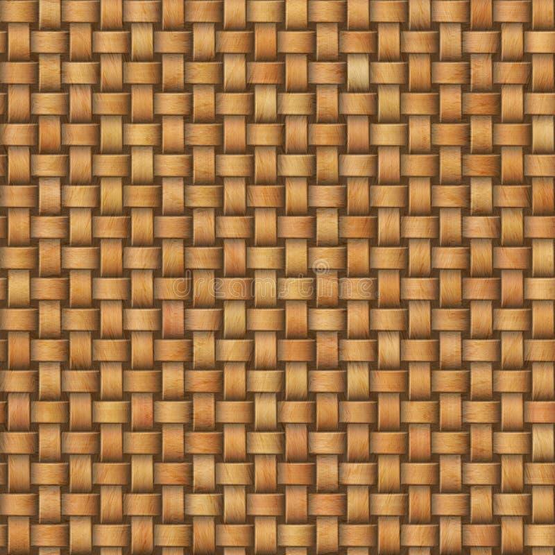 Texture en osier sans couture illustration de vecteur