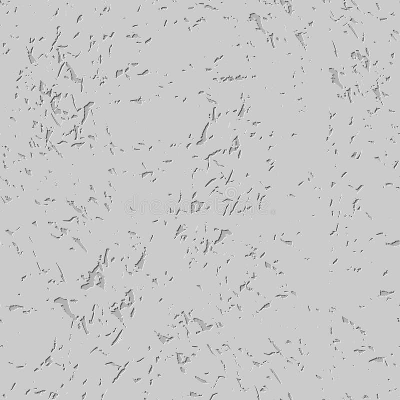 Texture en pierre avec des fissures Fond de roche Patte sans couture en pierre illustration de vecteur