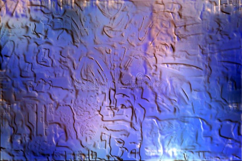 Texture en pierre de fond bleu abstrait photographie stock