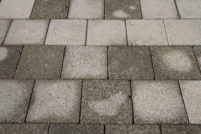 Texture en pierre de trottoir Fond abstrait du vieux pavé rond p images stock