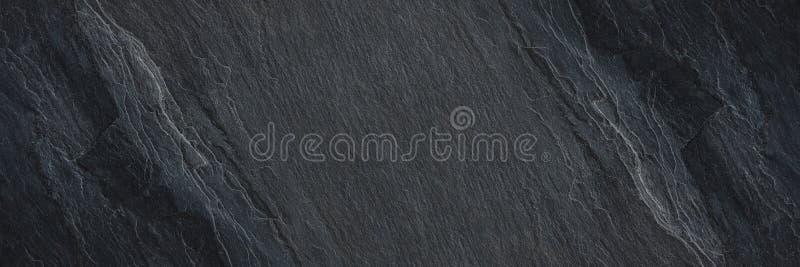 texture en pierre noire horizontale pour le mod?le et le fond photographie stock