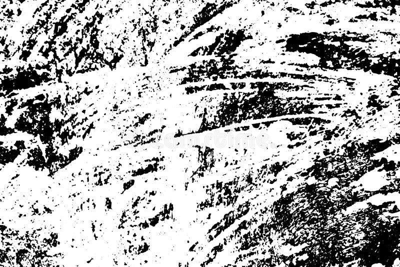 Texture en pierre rustique de poussière abrasive Taches noires et bruit pour l'effet affligé illustration de vecteur