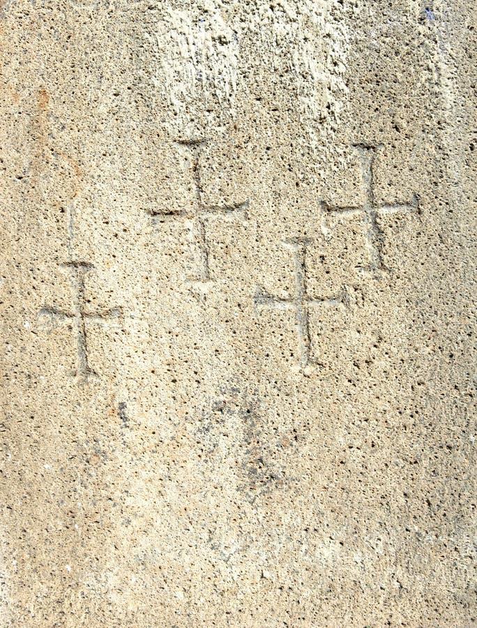 texture en travers chrétienne de symboles images libres de droits