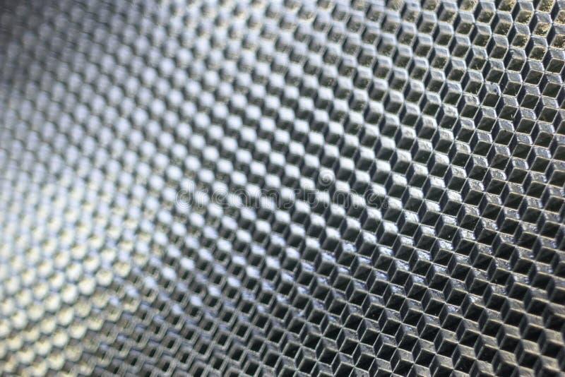 Texture en verre carrée photos stock