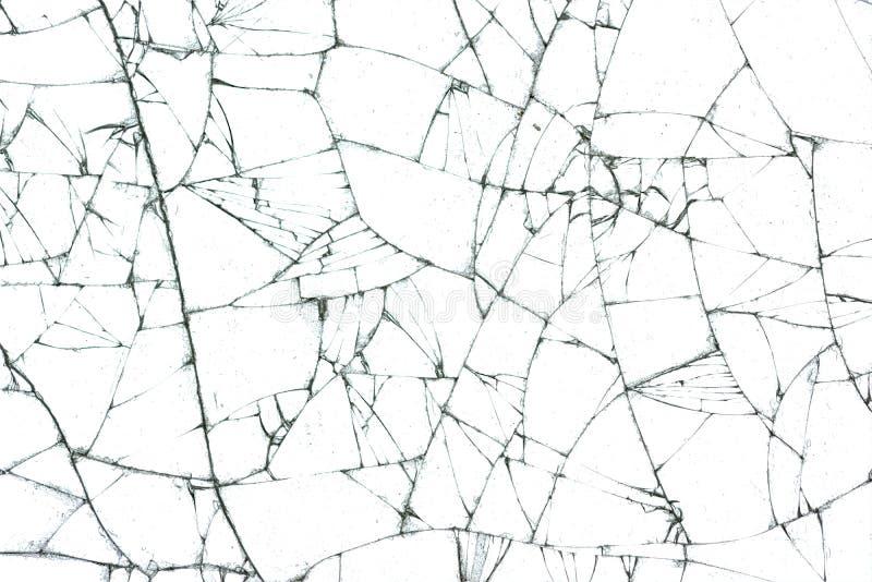 Texture en verre cassée illustration libre de droits