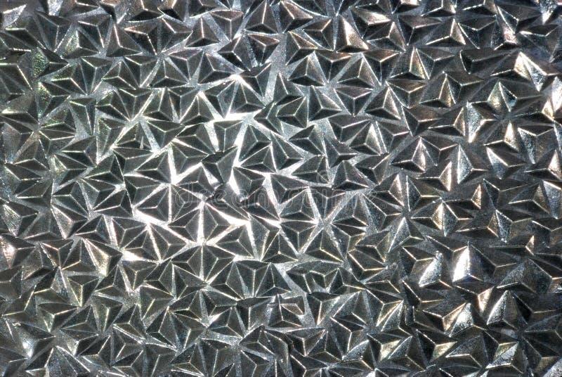 Texture en verre de diamants de triangles images libres de droits
