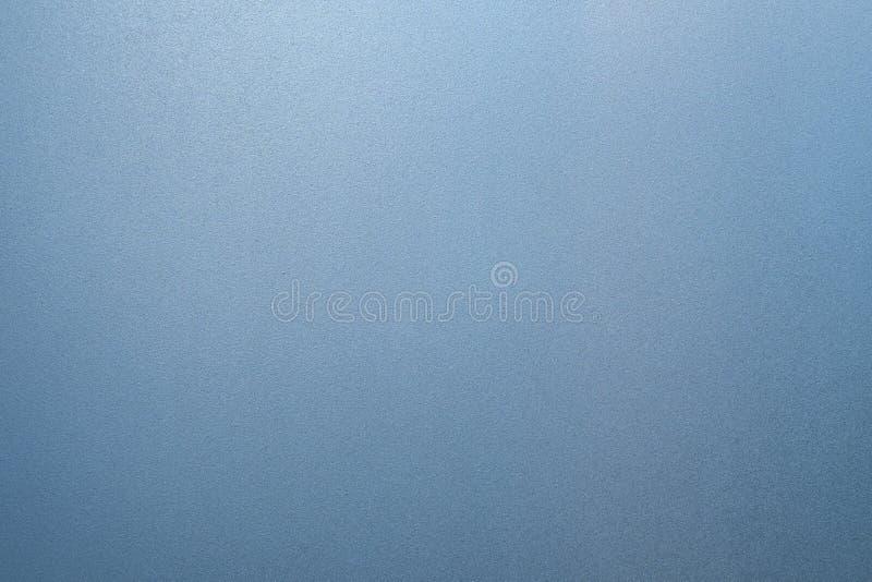 Texture en verre givré de bleu comme fond image stock