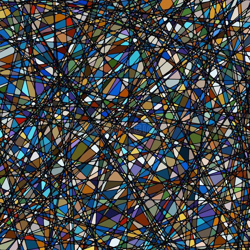 Texture en verre souillé dans un son pourpré. ENV 8 illustration libre de droits
