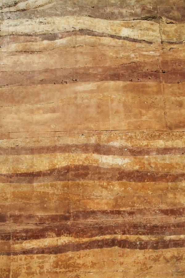 Texture enfoncée de matériel de mur de la terre photo libre de droits