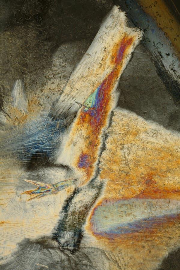 Texture et couleur de glace images libres de droits