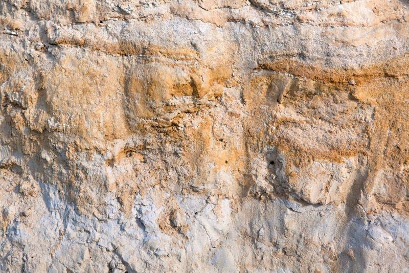 Texture et fond bruns naturels de pierre de sable images stock