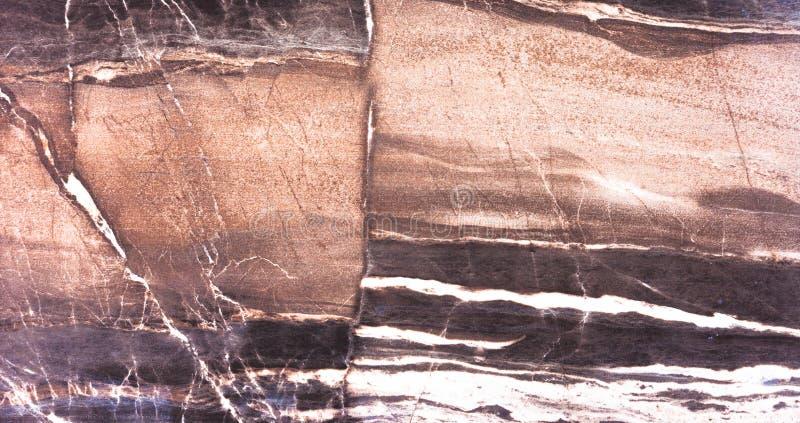 Texture et fond de haute qualité de pierre de brun foncé photos stock