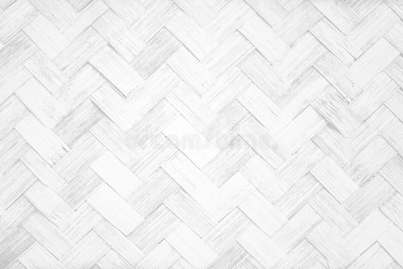 Texture et fond en bambou blancs image libre de droits