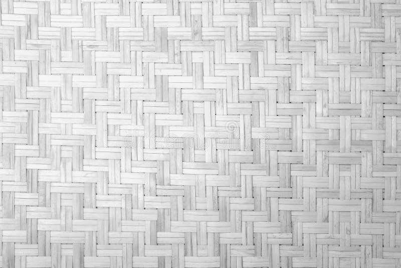 Texture et fond en bambou blancs images stock