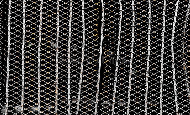 Texture et fond métalliques foncés images stock