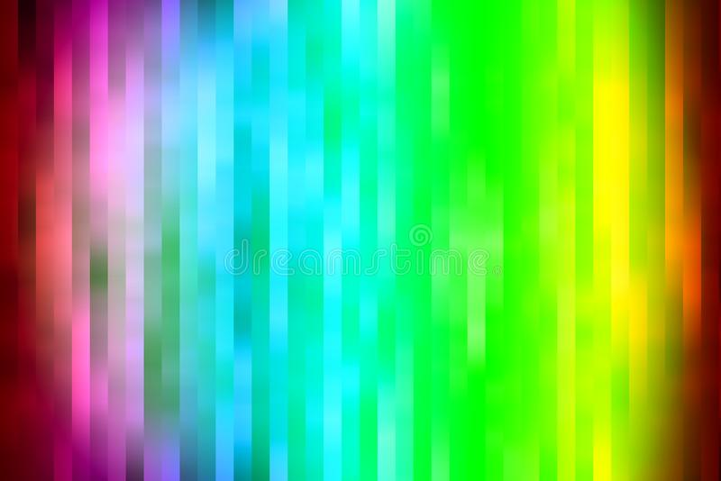 Texture et fond multi de rayure de couleur photographie stock