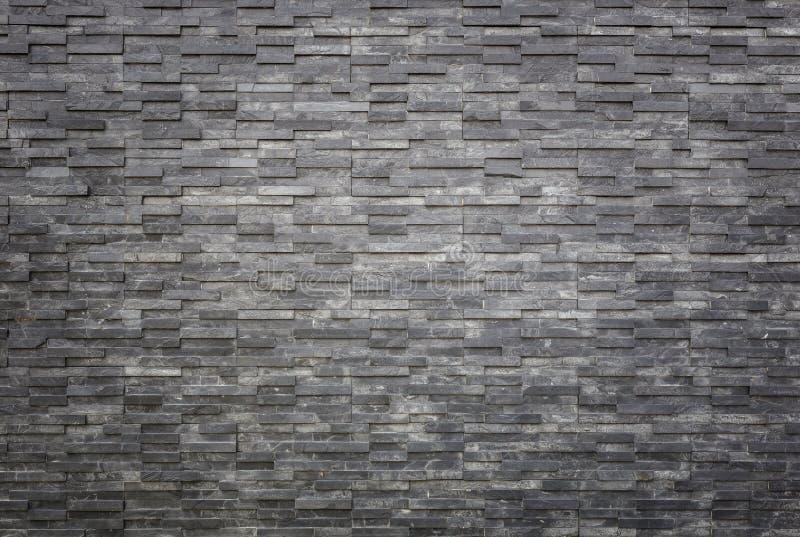 Texture et fond noirs de mur d'ardoise De intérieur ou extérieur photographie stock