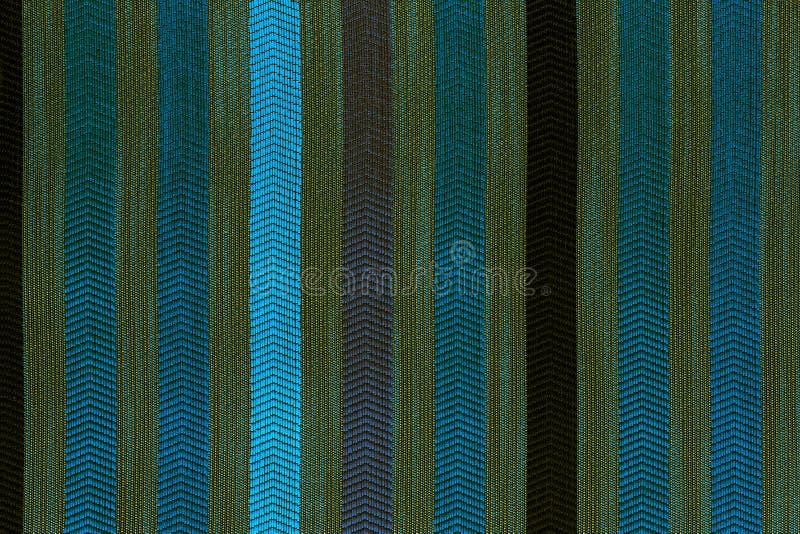 Texture et fond plats verticalement rayés de tapisserie d'ameublement de polyester photos libres de droits