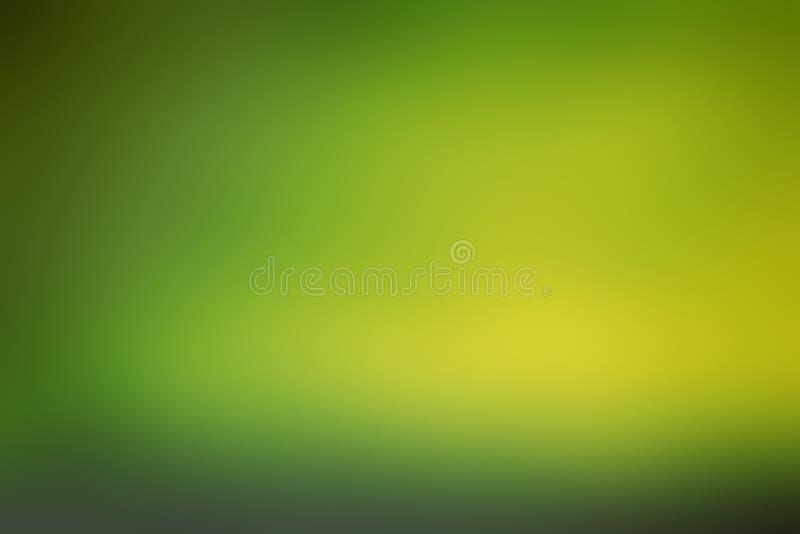Texture et fond verts abstraits de nature de tache floue Écologie concentrée photos libres de droits