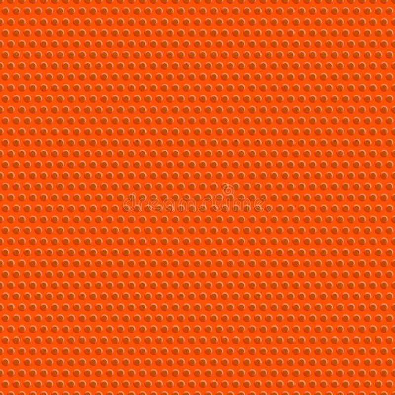 Texture et modèle sans couture de boule de basket-ball Folâtre le backgrou illustration de vecteur