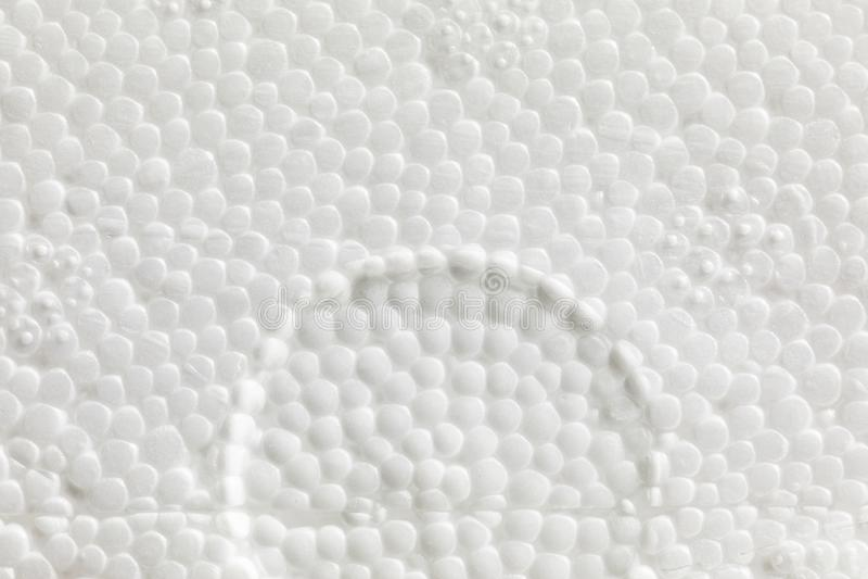 Texture expansible de polystyrène photo stock