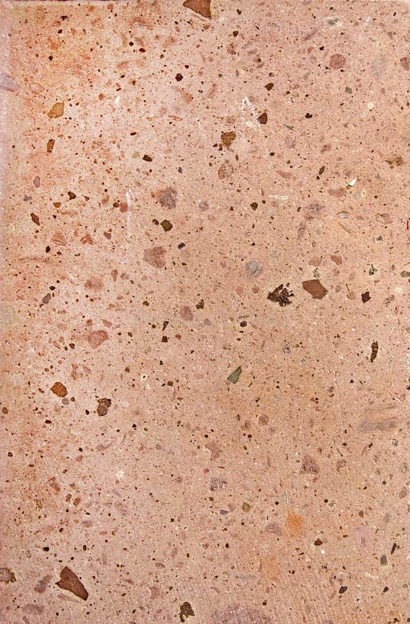 Texture extérieure en pierre rose photos libres de droits