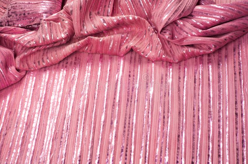 Texture, fabric, background. The hippo`s skin is pink in color, royalty free stock image