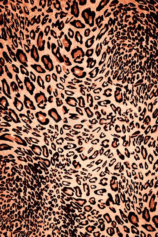 Texture fabric wild animal pattern. Background royalty free illustration