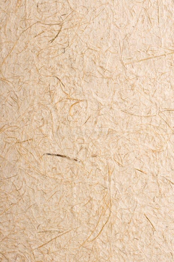 Texture fabriquée à la main de papier de riz photographie stock libre de droits