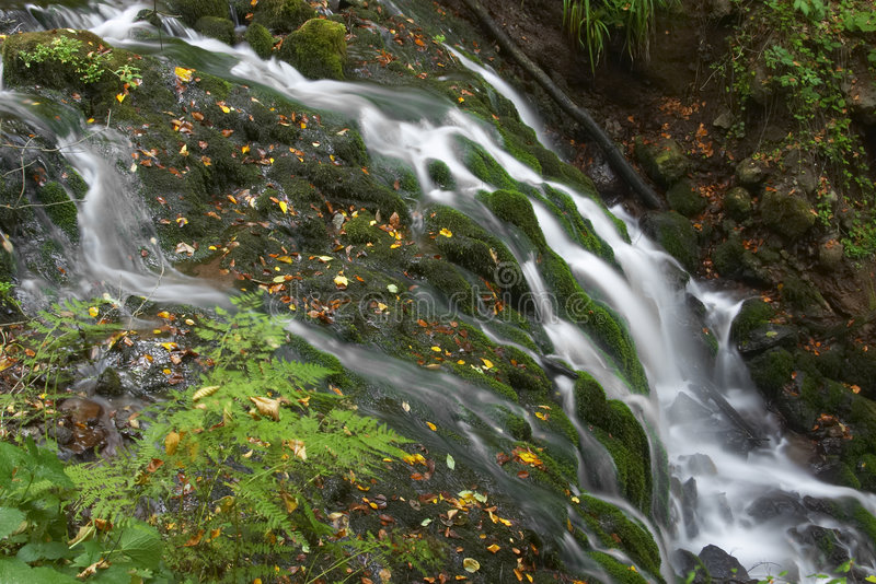 Texture Falls stock images