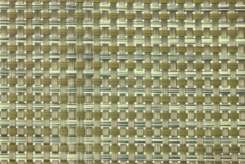 Texture fine de métier qui a fait à partir du plastique photo stock