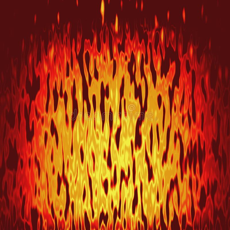 Texture Fire in yellow royalty free stock image