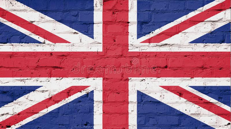 Texture of flag United Kingdom stock photos
