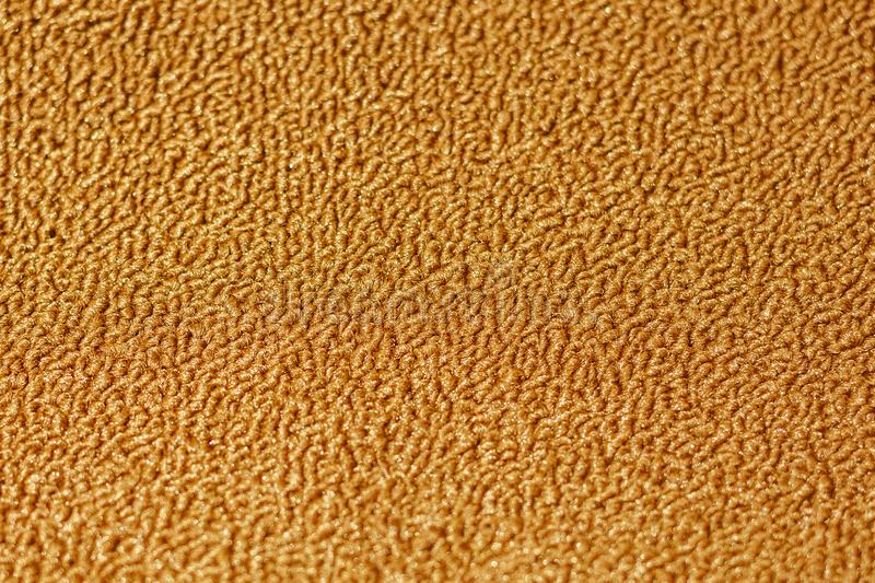 Texture of floor carpet, brown royalty free stock photo