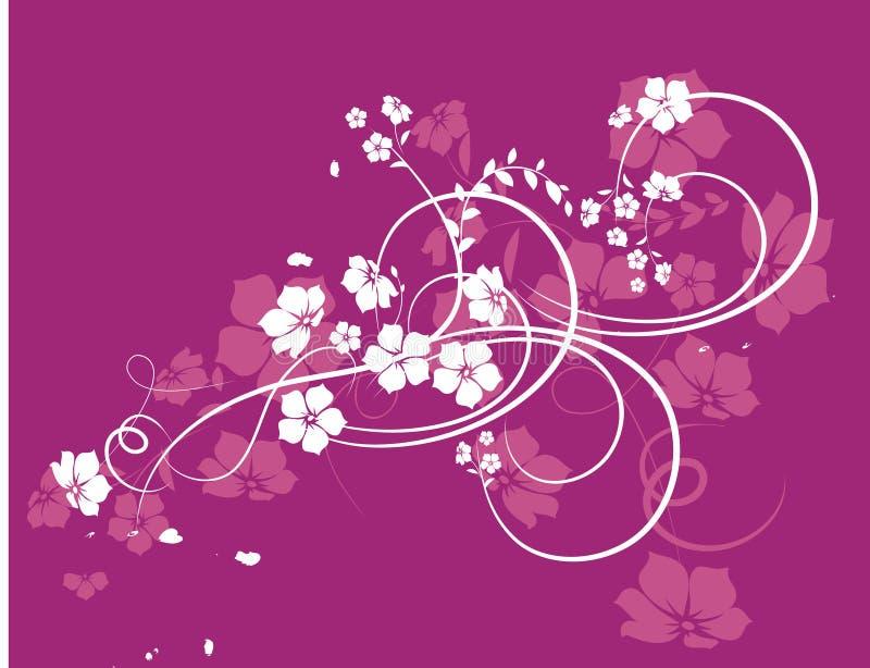 Texture florale illustration stock