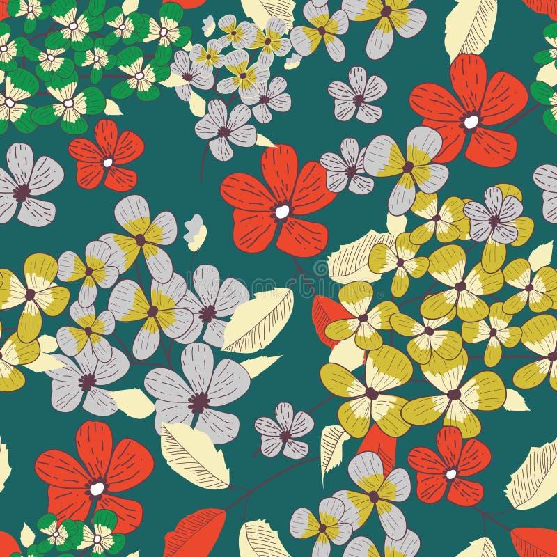 Texture florale illustration libre de droits