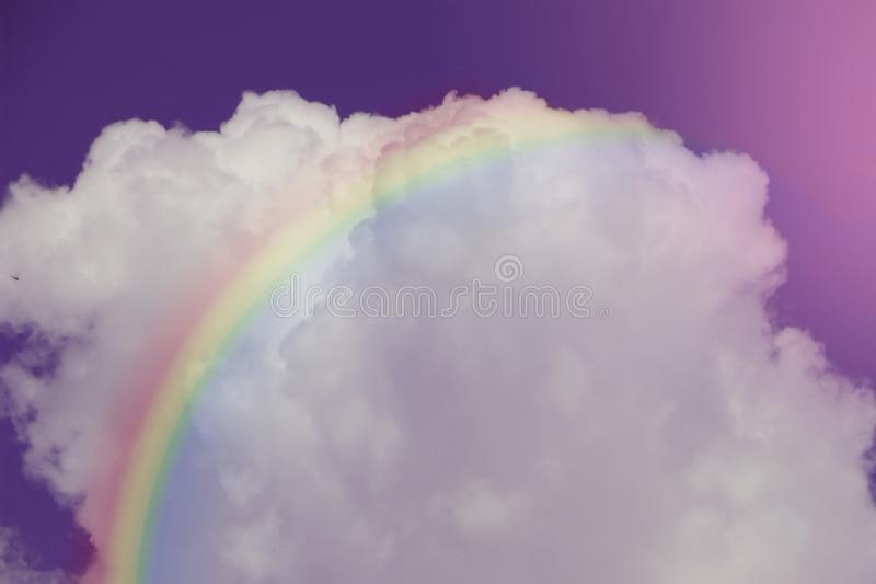 Texture fluffy clouds shine close up royalty free stock photo