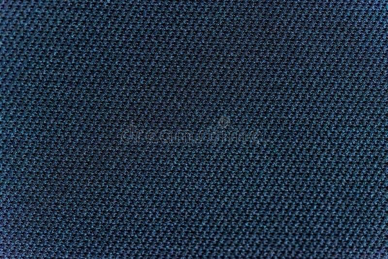 Texture foncée de macro de textile de voiture photos stock