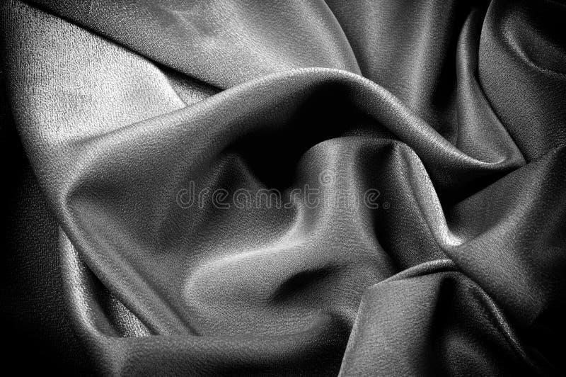 Texture, fond descripteur Le tissu d'école est noir, gris image libre de droits