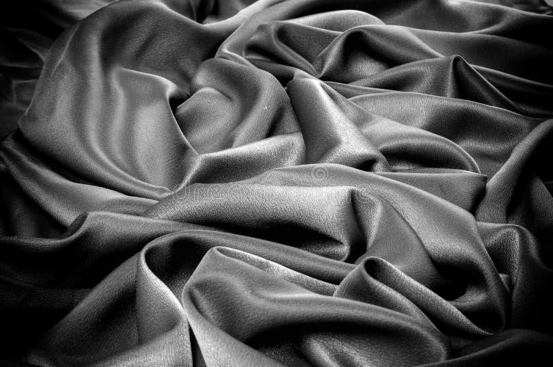Texture, fond descripteur Le tissu d'école est noir, gris photo stock