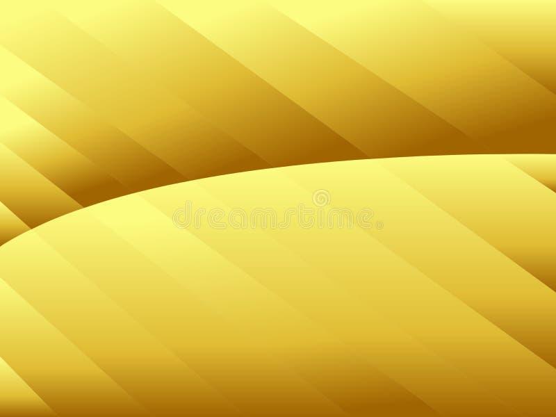 Texture froissée par résumé de fond de gradient d'or Dirigez l'illustration, EPS10 illustration stock