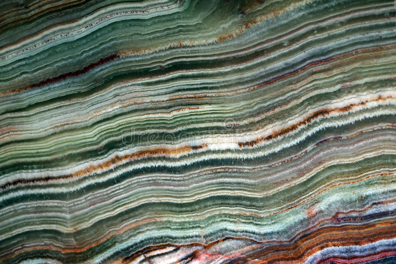 Texture of gemstone green onyx royalty free stock photography