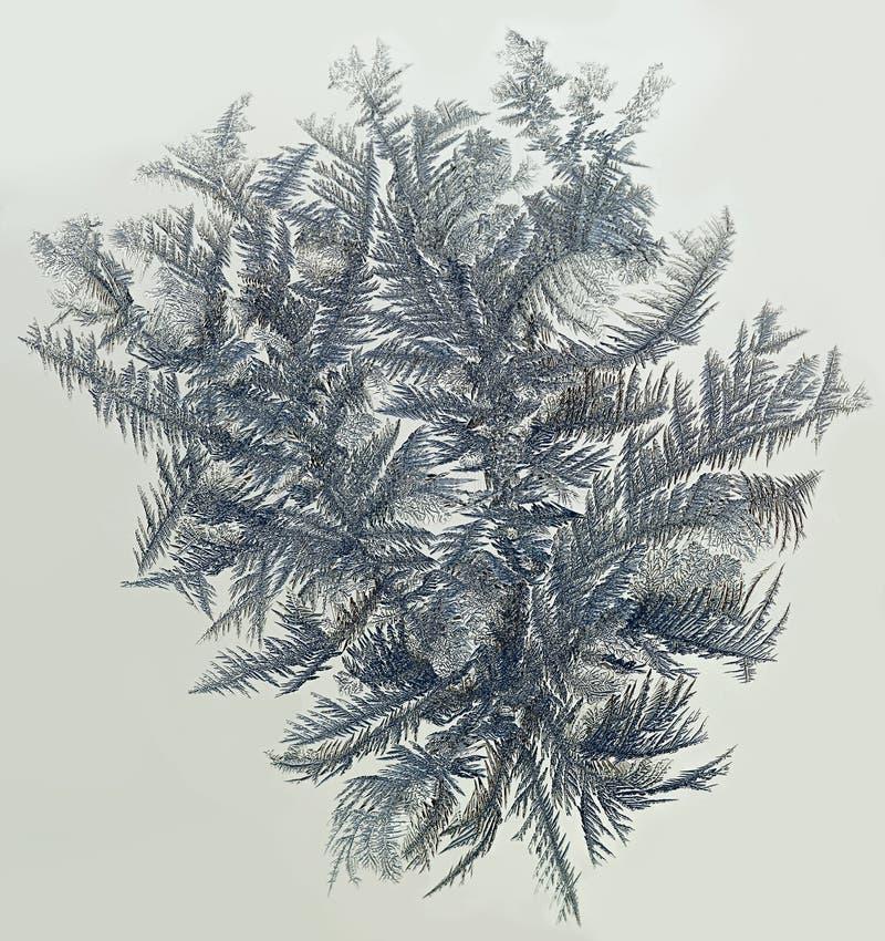 Texture givrée abstraite de l'eau givrée, images libres de droits