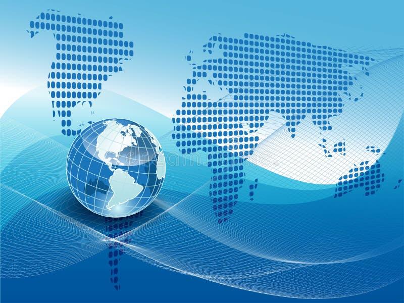 Texture globe stock illustration