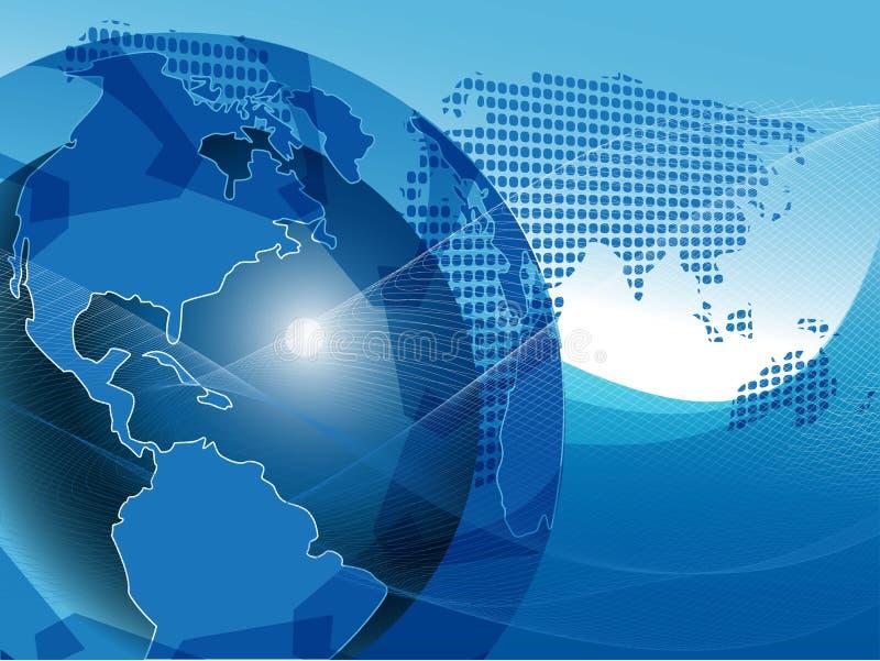 Texture Globe vector illustration