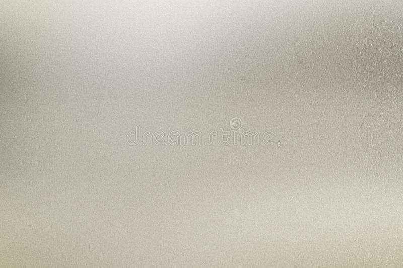 Texture of glossy white metal panel, detail steel, abstract background royalty free stock images
