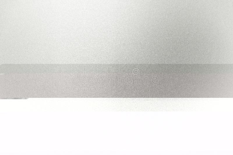 Texture of glossy white stainless, detail steel, abstract background stock image