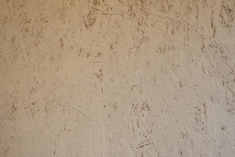 Texture of glued sawdust royalty free stock photography