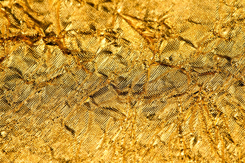 Texture gold foil royalty free stock photo