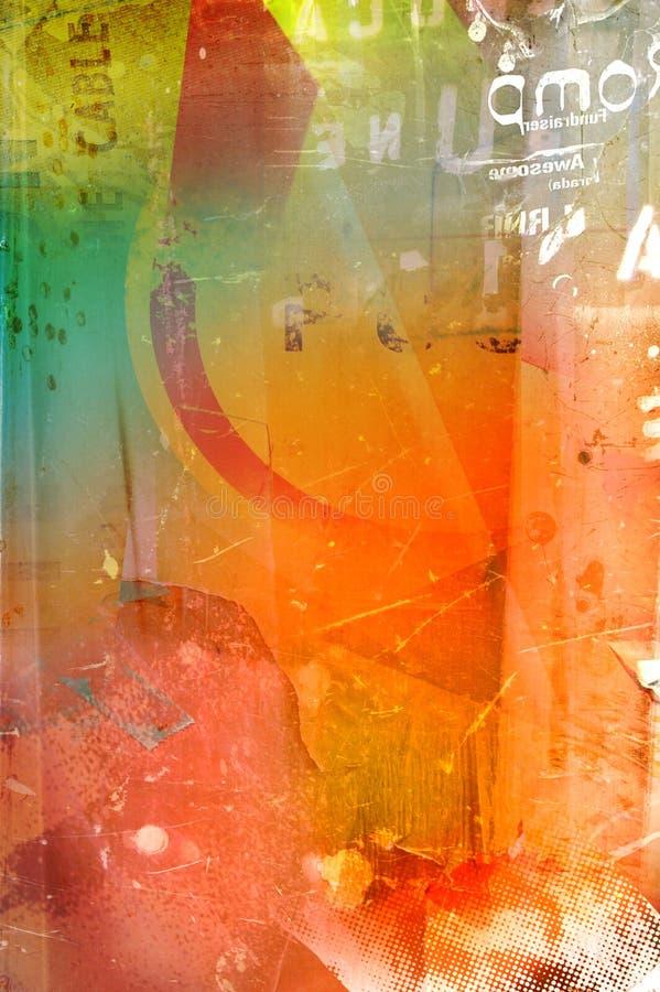 Texture graveleuse illustration stock